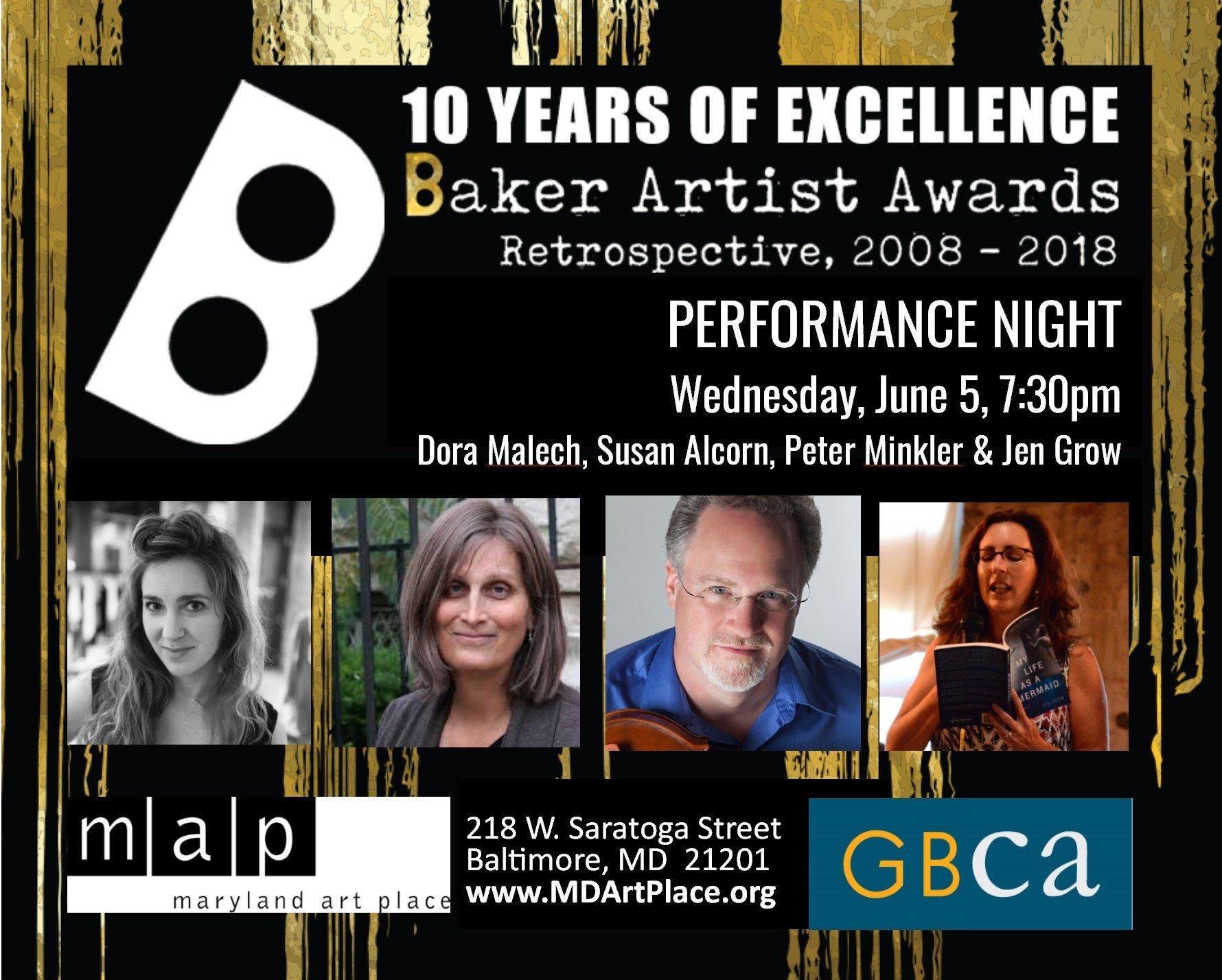 Baker Artists Award Retrospective 2008-2018